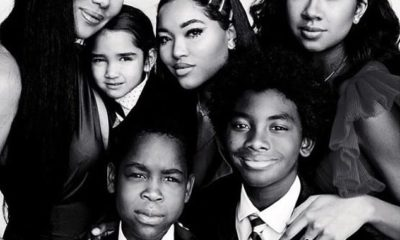 kimora lee simmons and her children wolfe, gary, aiko, kenzo, and ming lee