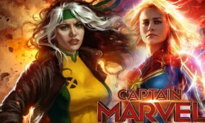rogue and captain marvel