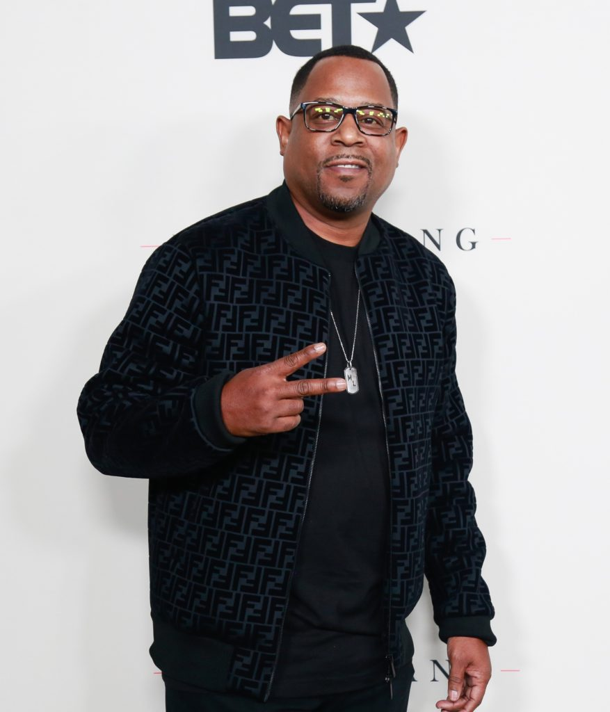 martin lawrence the cast of boomerang on bet season 2 premiere party at paramount studios