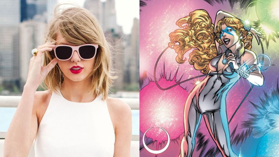 taylor swift as dazzler