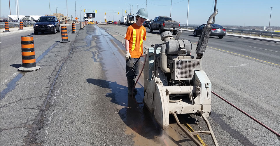 Asphalt Sawing and Cutting