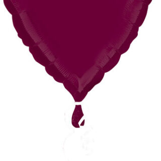 berry heart balloon