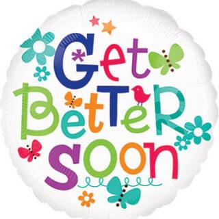 get better soon balloon