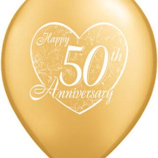 50th anniversary balloon