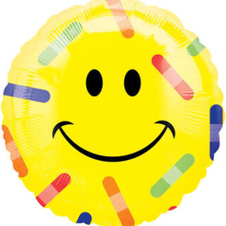 get well emoji balloon