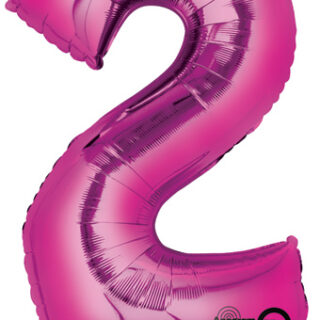 pink two balloon