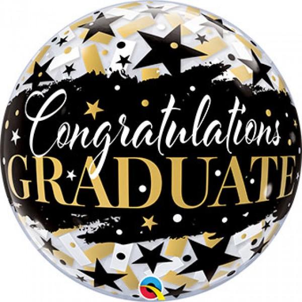 round graduation balloon