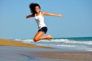 fitness and happiness with seratonin