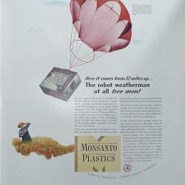 1941 circa Sonde-Track Monsanto, Fortune