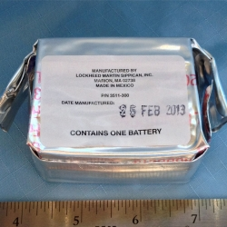 BATTERY: 3511-200, Lockheed Martin, for Mark IIA GPS Sippican