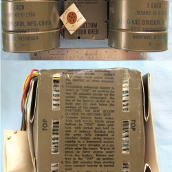 BATTERY: BA-380/AMQ-9, Ray-O-Vac, ESB Inc.