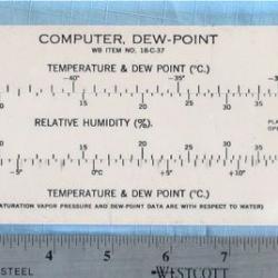 COMPUTER: Dewpoint, Felsenthal