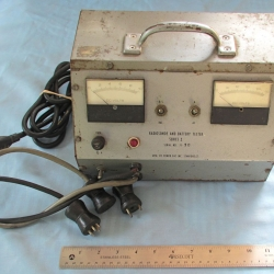 SUPPORT EQUIPMENT: Power Supply and Battery Tester, Series 1, Power Pac Inc.