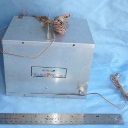 SUPPORT EQUIPMENT: Transceiver, RT-81/AM, from AN/GMQ-5 RAWIN Sounding Unit