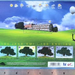 STAMP: Commemorative, Belgium Royal Meteorological Institute