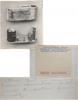1930--Fergusson Balloon Meteorograph