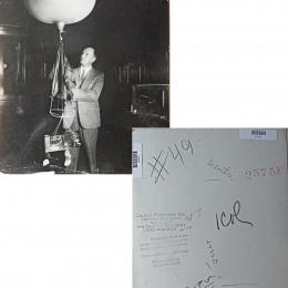 1930s--Man With Radiosonde