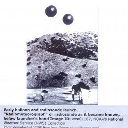 1930s?--Dual Balloon Radiosonde Launch