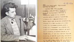 1936--Dr. Krick with Radio-Meteorograph Chicago (1) copy