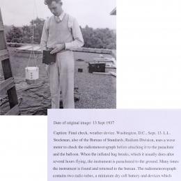 1937--NBS Radiometeorograph Check Wash. DC