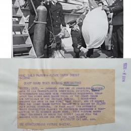 1939--Coast Guard Radio Meteorograph Launch Aboard USCGC Chelan