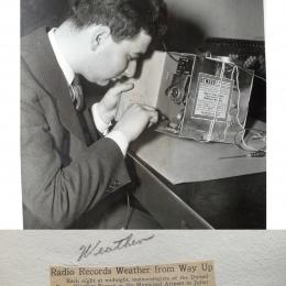 1940--Prepping WB Radiosonde Joliet IL