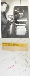 1941--Meteorologist with Radiosonde and Recorder, Spokane, WA
