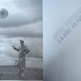 1943--Releasing Balloon US Army Airfield Presque Isle, ME
