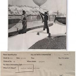 1945--Radiosonde Launch