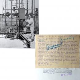 1945--Army/Farnsworth SCR658 Radiosonde Tracking Radar Fort Wayne IN
