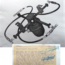 1945--Army/Farnsworth Mechanical Antenna Switch Fort Wayne IN