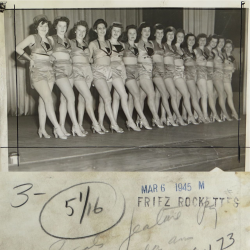 1945--Friez Instruments Division Rockettes, Probably Baltimore