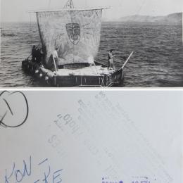 1947--Weather Balloon Launch from Kon-Tiki, Lima, Peru