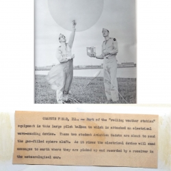 1947--(or before) Army Air Force Radiosonde Launch Chanute Field IL