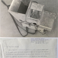1947 (or earlier)-- ML-310A/AMT-1 Modulator (AAF) on (possibly) T-69A-AMT-1 Radiosonde.