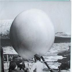 1948--Launch Preparation on USCGC Northwind, Arctic Region