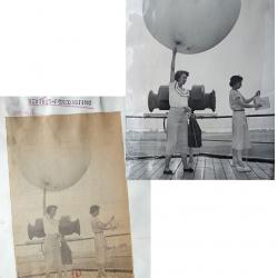1949--Weather Balloon Launch