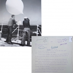 1950--USCG US WB Radiosonde Launch Aboard US CGC Pontchartrain - North Atlantic
