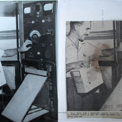 1951--Meteorologist with Northeastern Engineering Radiosonde and Recorder