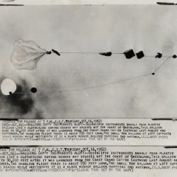 1952 --Cosmic Ray Study Balloon Release From USCGC Eastwind, Off Greenland