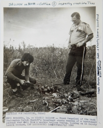 1960--Investigating Weather Balloon Payload Accident – Bogalusa LA
