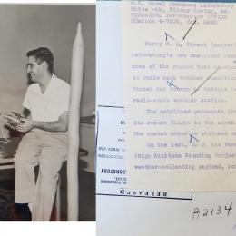 1960-NOL Engineers Examine HASP Payload (combined)