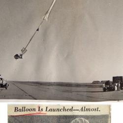 1961--Aborted Balloon Launch, Liberal, KS
