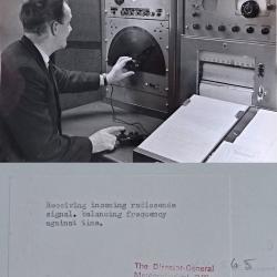 1965?--Adjusting Radiosonde Signal Bracknell England