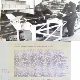1967--Assembling a Skua Meteorological Rocket, Outer Hebrides, Britain
