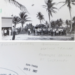 1967--Radiosonde Training Launch Panama