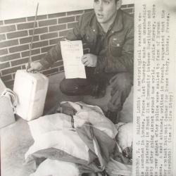 1980 circa--Found French radiosonde, Greensboro, NC