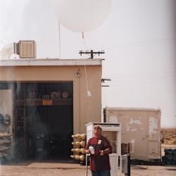 2002--Radiosonde Launch China Lake CA