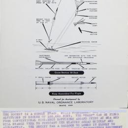 1960 circa--High Altitude Sounding Projectile (HASP), White Oak, MD