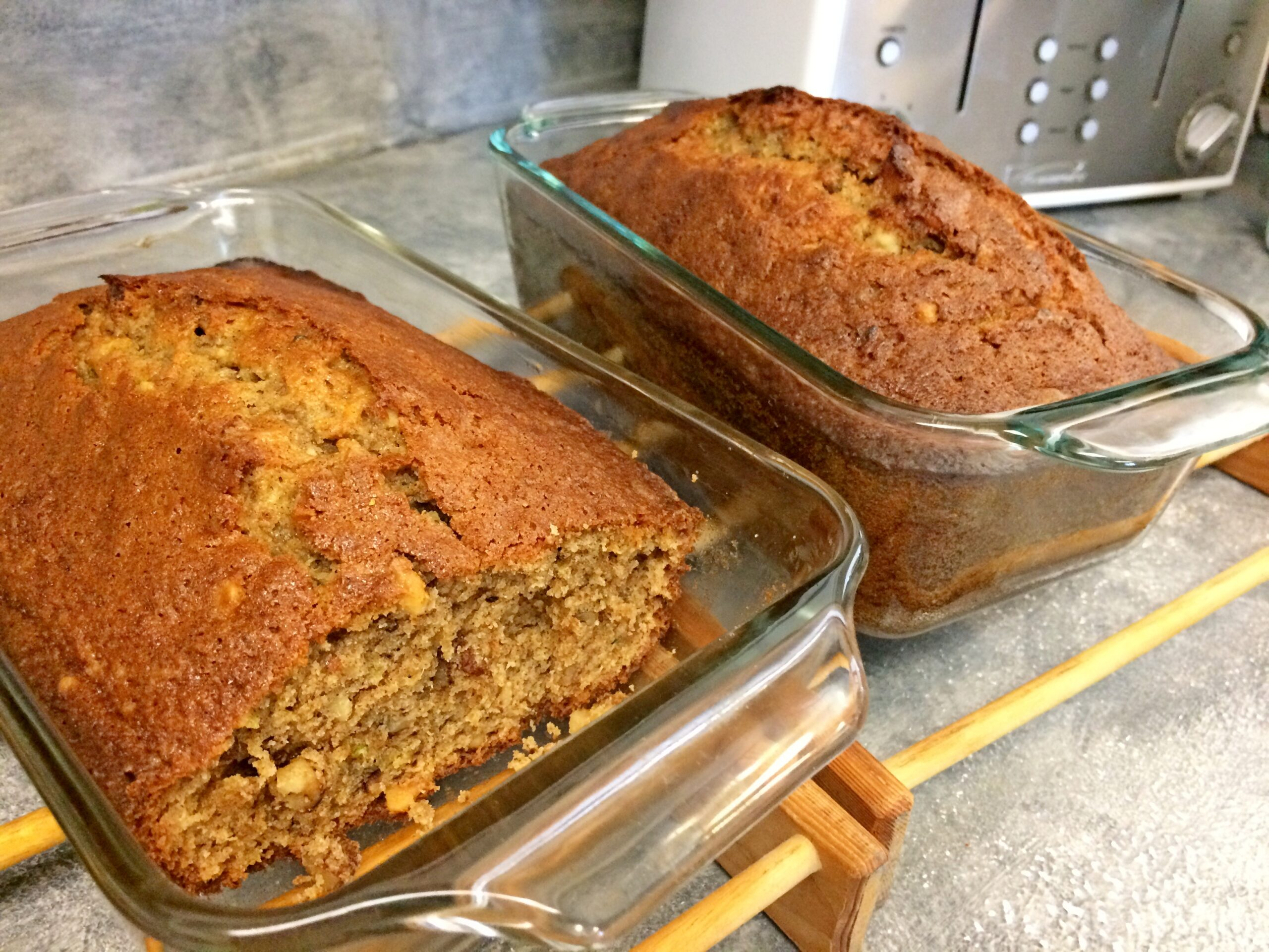 Going Into Fall with Zucchini Bread